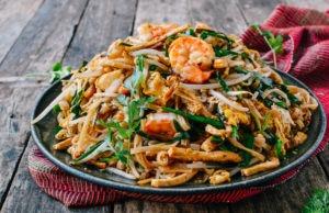 gastronomía tailandesa - pad thai
