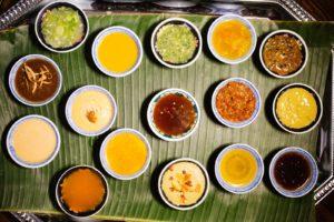 gastronomía tailandesa - salsas