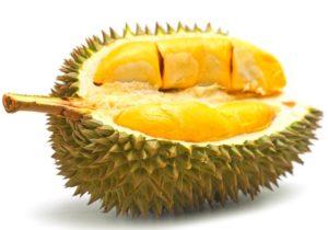 gastronomía tailandesa - durian