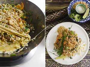 pad thai, gastronomía tailandesa