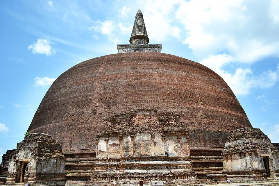 Estupa - Curiosidades de Sri Lanka