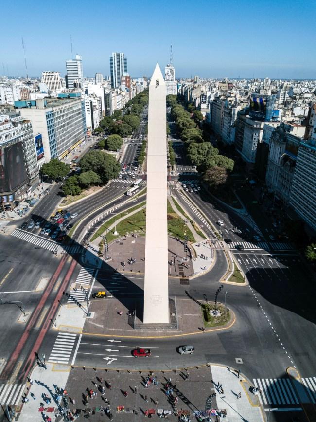 Diccionario argentino - Obelisco