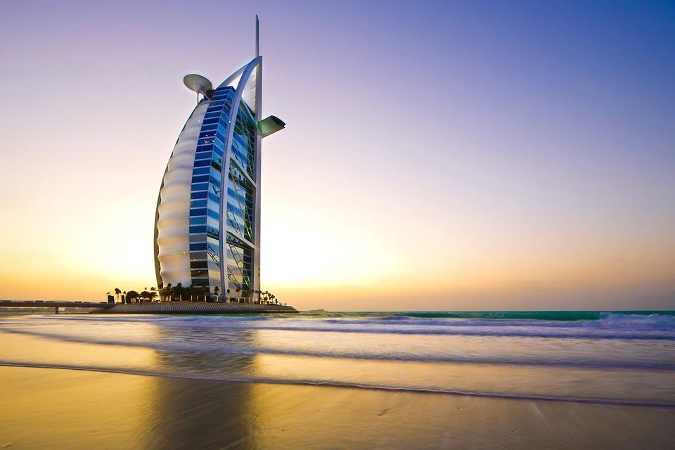 atardeceres del mundo en Dubái