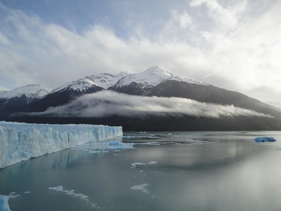 atardeceres del mundo en Perito Moreno