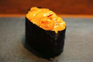 Datos sobre el sushi - Uni