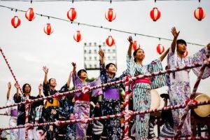 Danzas del mundo - Bon Odori en Japón