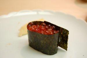 Datos sobre el sushi - ikura
