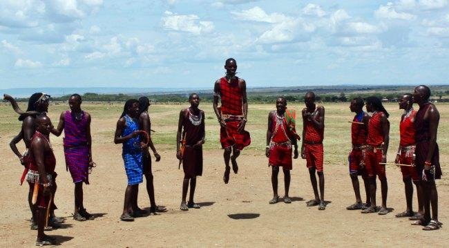 Danzas del mundo - Tribu masái en Kenia