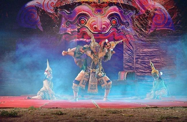 Danzas del mundo - Khon, danza de tailandia