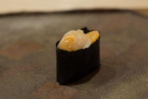 Datos sobre el sushi - vieiras