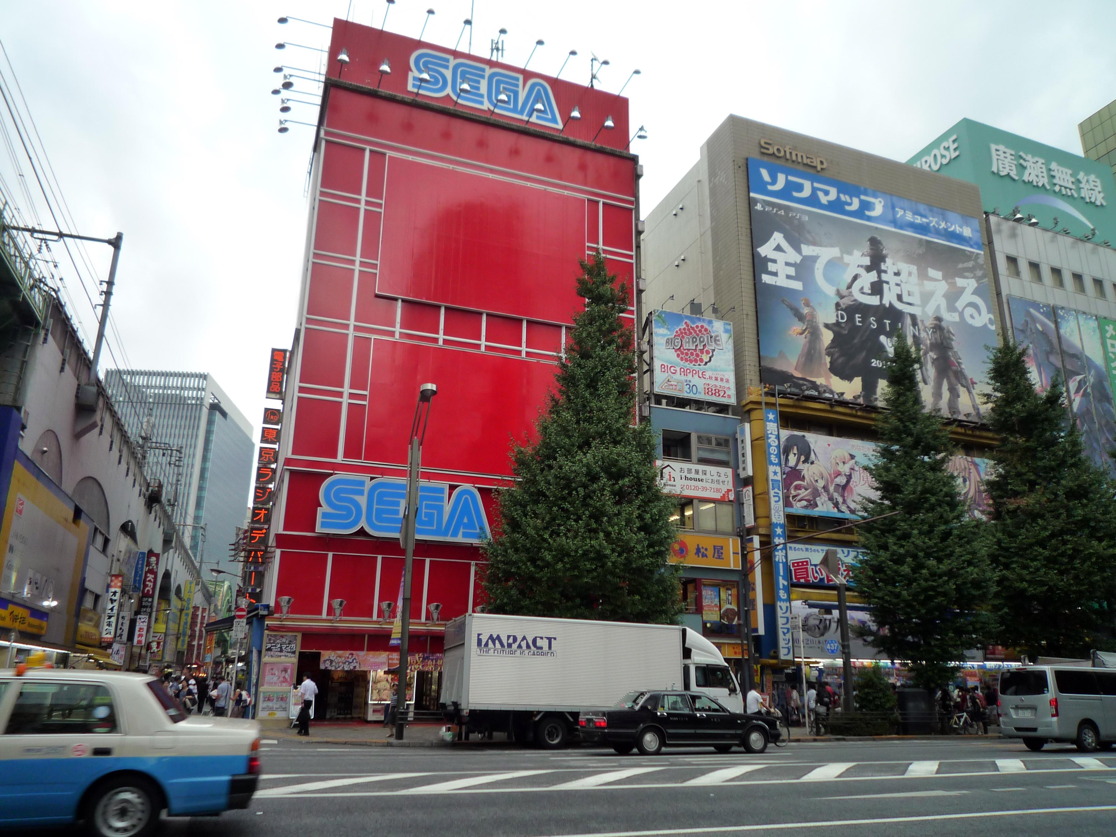 Japon-SegaenAkihabara- Qué ver en Akihabara