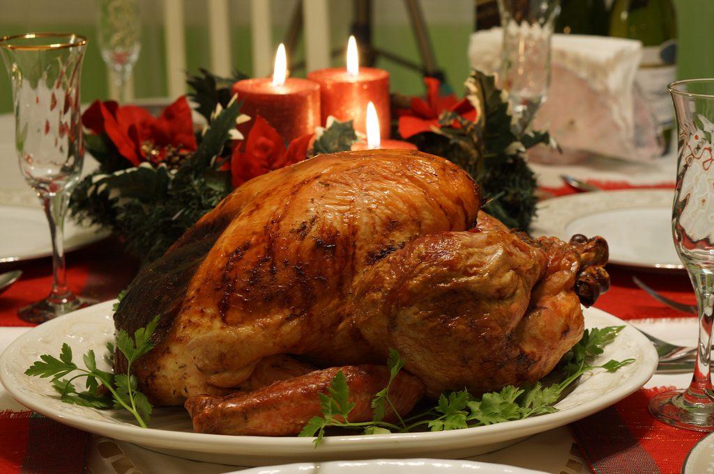 Gastronomía estadounidense - pavo de acción de gracias