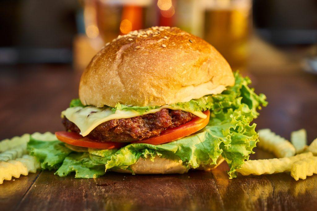 gastronomía estadounidense - hamburguesa
