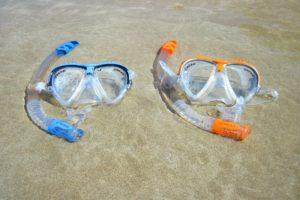 Máscaras de snorkel - snorkeling en Islas Maldivas