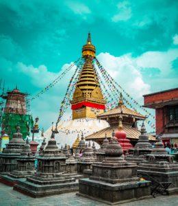 Swayambhunath en Nepal