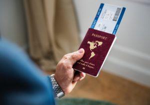 Pasaporte - Control de seguridad en el aeropuerto