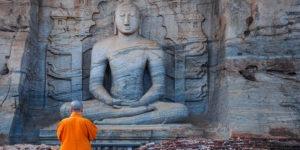Imagen de Buda en Sri Lanka
