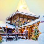 Casa-Papa-Noel-muñeco-nieve