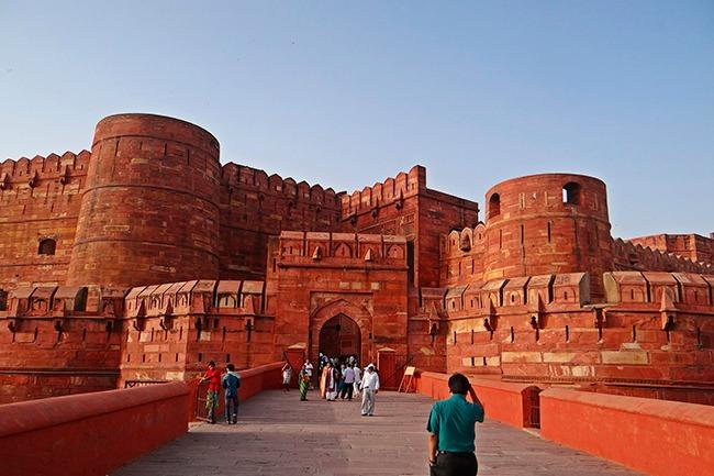 India-Fuerte de Agra-que ver en el triángulo de oro