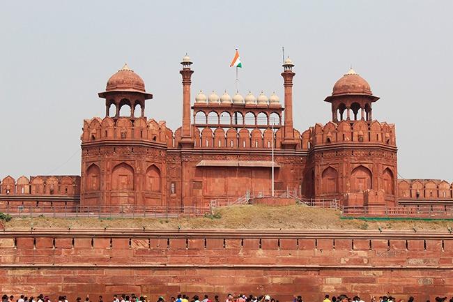 India-Fuerte Rojo en Delhi-GrandVoyage