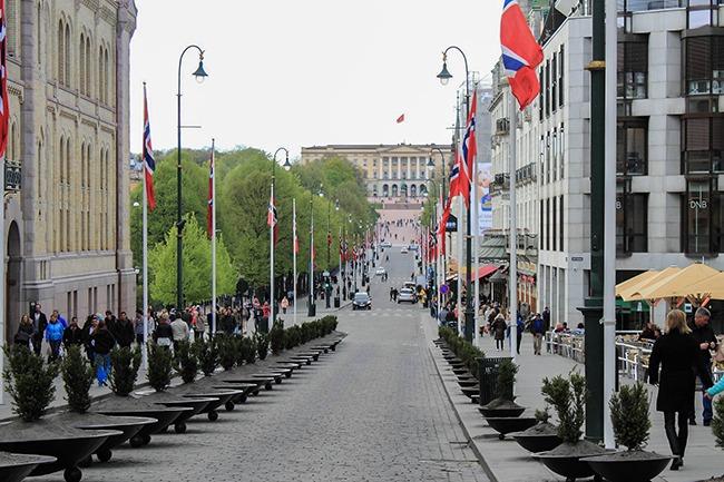 Noruega-KarlJohansGateOslo- qué hacer en oslo