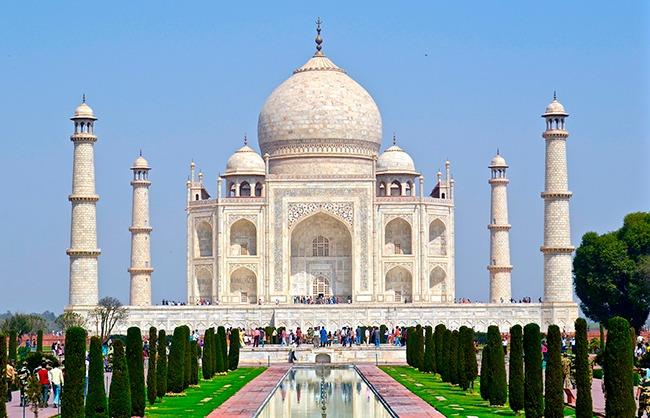 India-TajMahal-que ver en el triángulo de oro