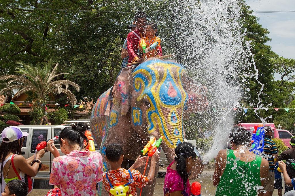 Songkran - Mejores festivales del mundo