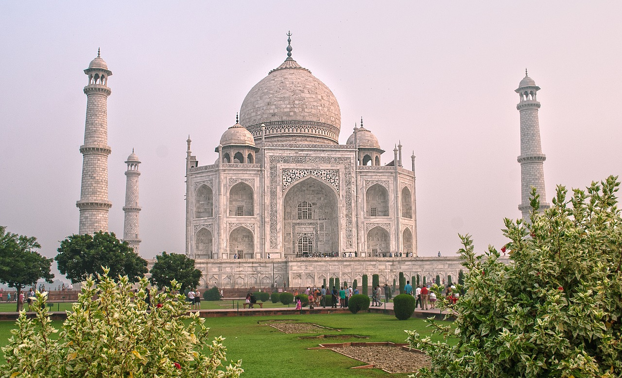 Viajar desde casa - Taj Mahal