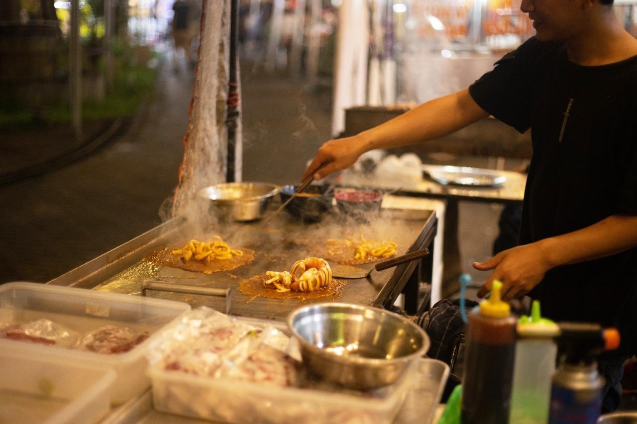 Indonesia - Reglas de la comida callejera