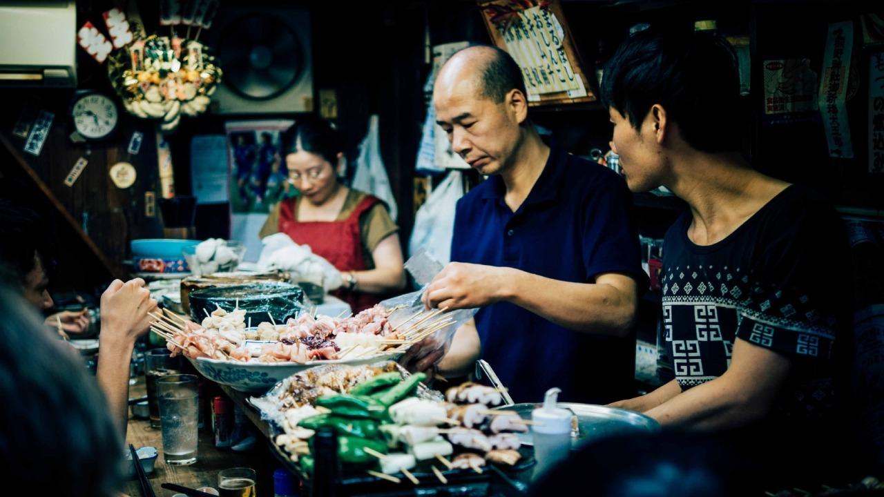 Japón - Reglas de la comida callejera