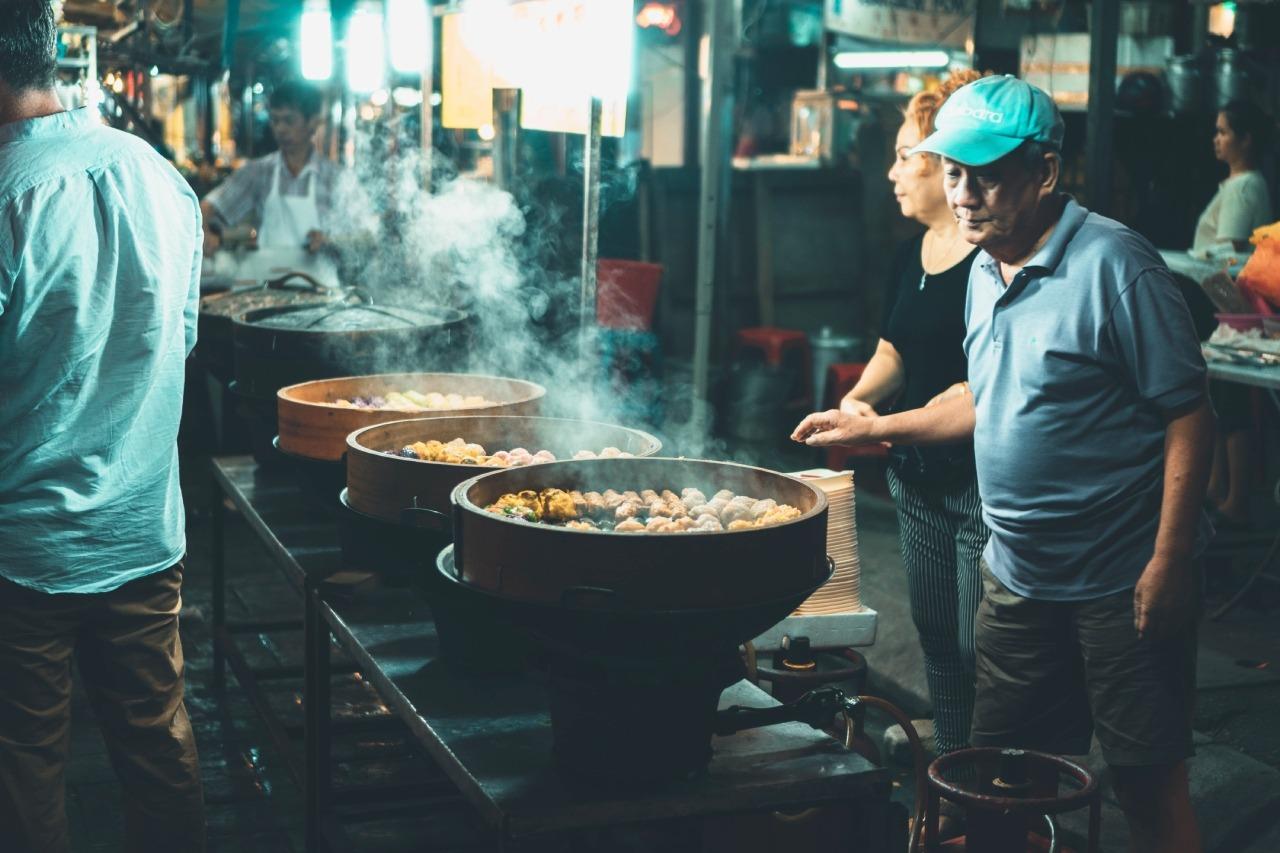 Malasia - Reglas de la comida callejera