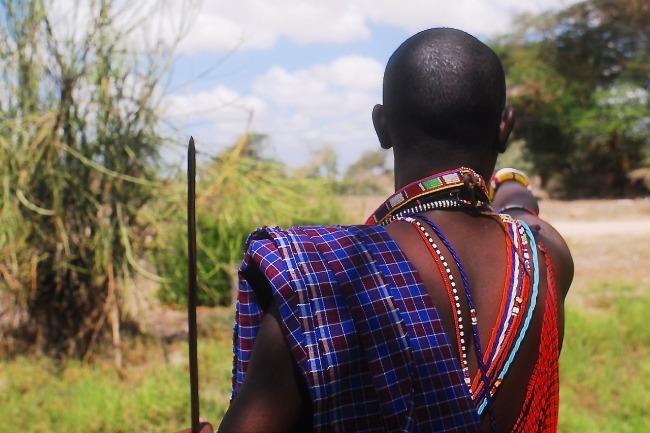 Kenia - Tanzania - hombre Masai