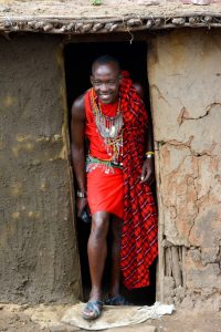 Kenia - Tanzania - vestimenta Masai