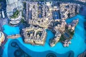 Qué ver en Dubái - fuentes