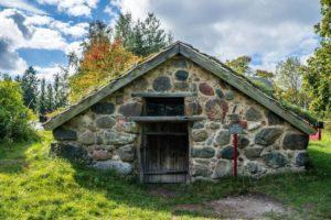 Skansen - casa de piedra
