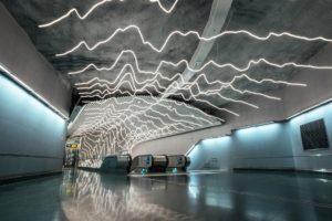Estaciones de metro que ver en Estocolmo