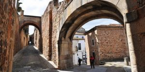 España Cáceres Arco de la Estrella