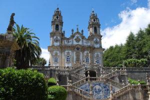 Portugal - Lamego - Santuario de Nuestra Señora de los Remedios