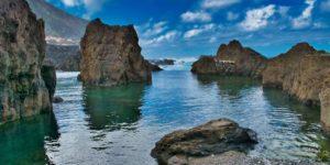 Portugal Madeira Porto Moniz piscinas naturales