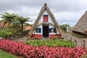 Madeira - Santana casa tradicional