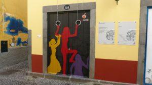 Funchal - puertas de colores
