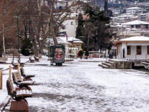 Curiosidades de Estambul - nieve