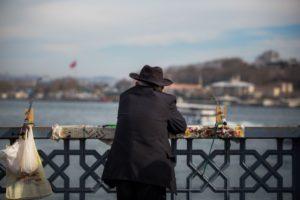 Pescadores en el Gálata