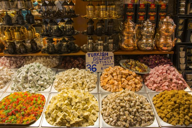 Delicias turcas -turkish delights