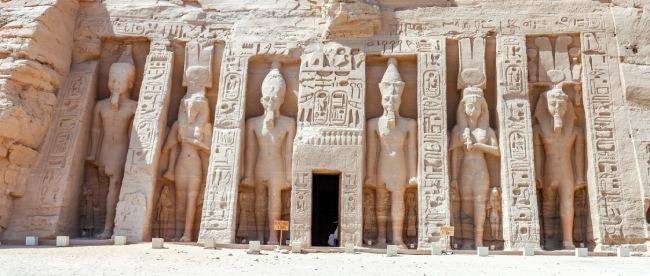 CURIOSIDADES DE EGIPTO - estatuas