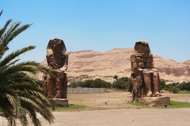 Colosos de Memnón que ver en Luxor