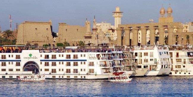Crucero en Luxor