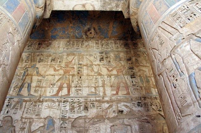 Templo de Ramses III - Qué ver en Luxor