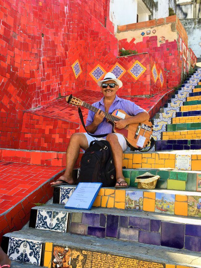 Escaleras de Selaron - Qué ver en Río de Janeiro