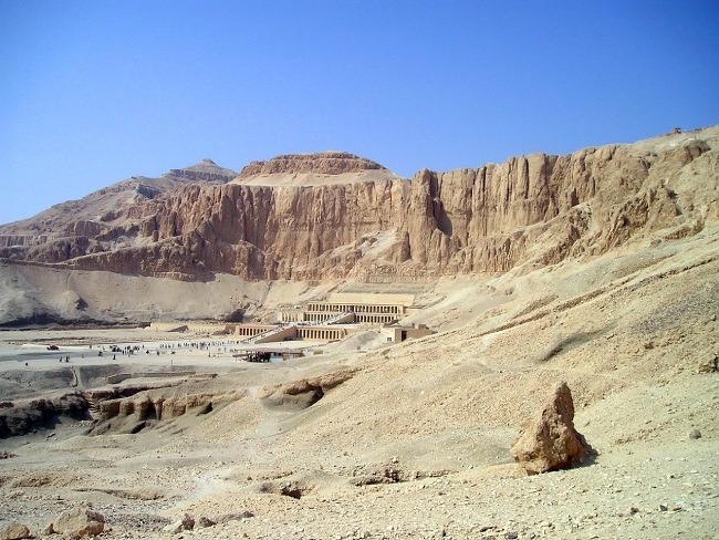 Valle de los reyes, sitio de entierro de faraones de Egipto